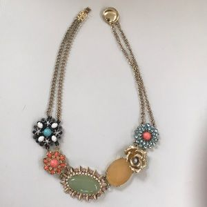 Jewelry - Statement necklace with spring colors
